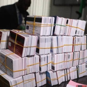 Customs Intercept Dubai-bound Passenger With 2,886 ATM Cards At Lagos Airport